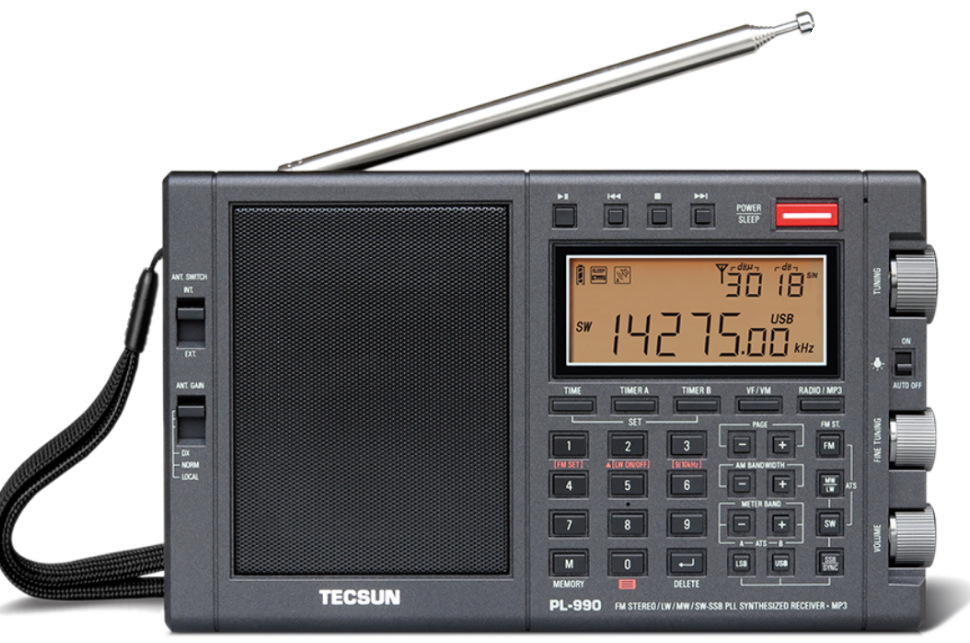 TECSUN PL-990X High Performance Shortwave Radio 1