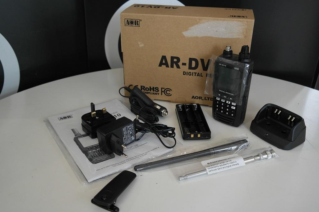 Second Hand AOR AR-DV10 Handheld Digital Scanner 1
