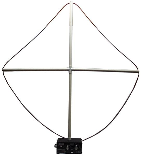 MFJ-57B PVC Cross Loop Antenna Kit