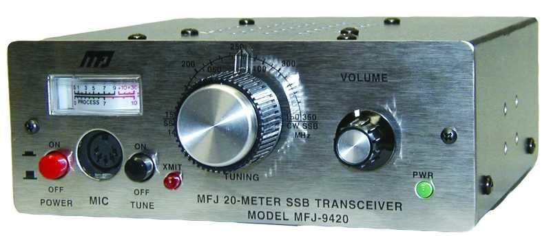 MFJ-9420 20M SSB Travel Radio
