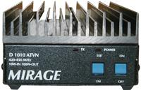 D-1010ATVN Mirage 70cm Amplifier 10W in 100W out