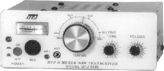 MFJ-9406X 6 Meter SSB Transceiver with Mic