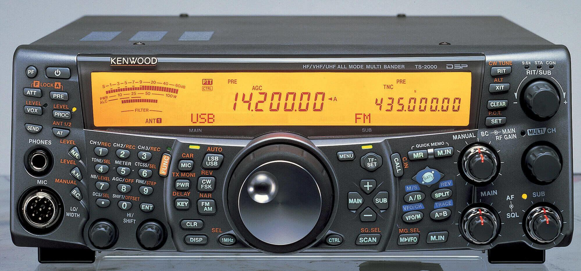 KENWOOD TS-2000 ALL-MODE MULTI-BAND TRANSCEIVER