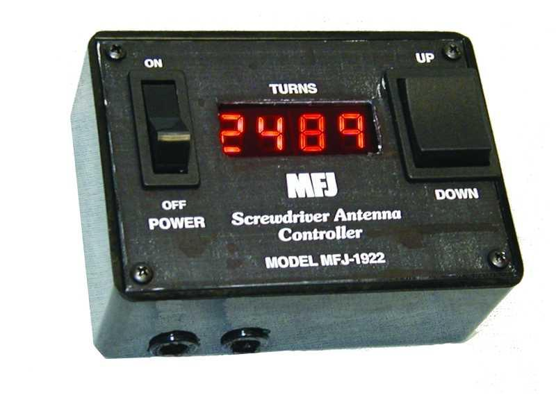 MFJ-1922 - Digital Screwdriver Antenna Controller