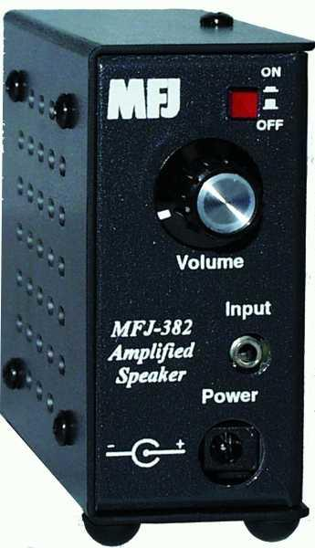 MFJ-382 - Deluxe Amplified ClearTone Speaker