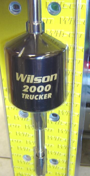 "Wilson Trucker 2000 w/10"" Shaft - CB Antenna - black"