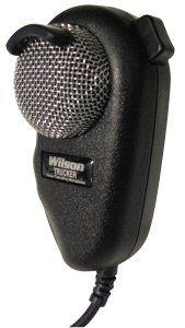 Wilson Black and Silver Noise Canceling Microphone