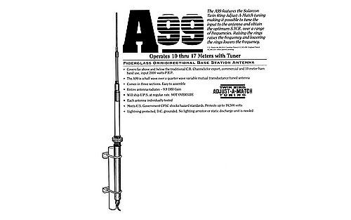 Solarcon A99 ANTRON home base CB Antenna