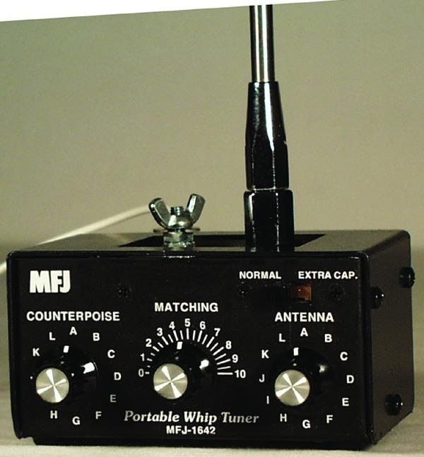 MFJ-1642  150 Watt 80 - 10 Meter Whip Tuner / Artificial Ground