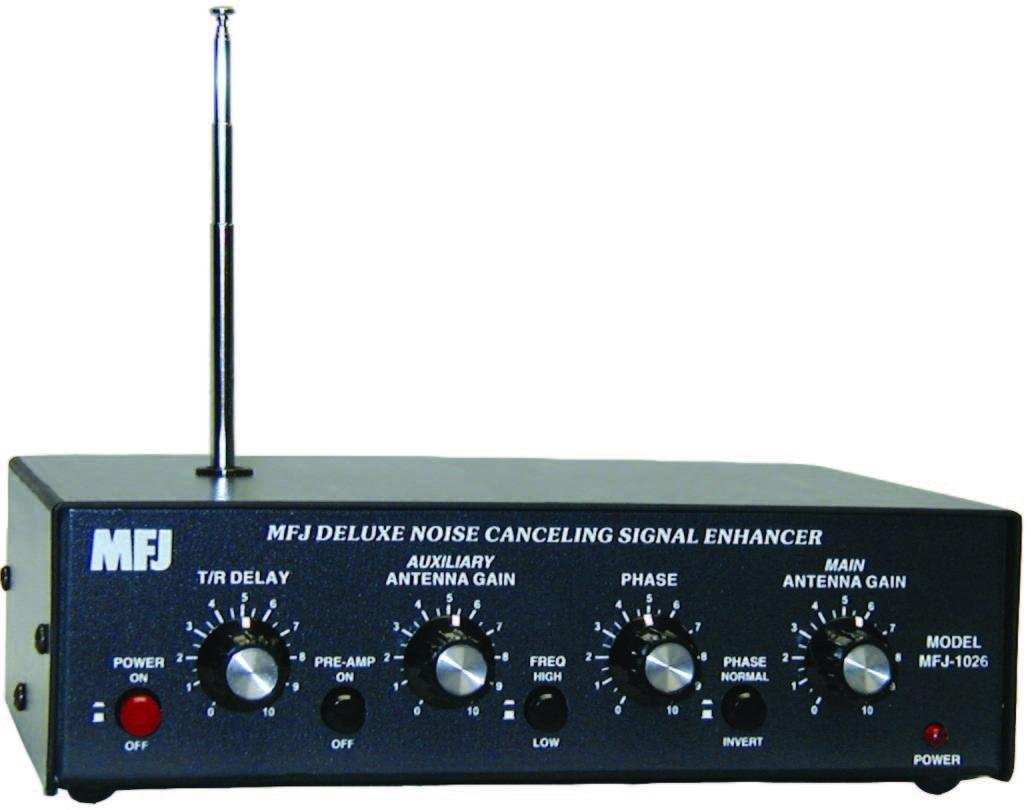 MFJ-1026 Active Antenna 1.8 - 30MHz with Noise Canceller