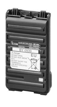 icom BP-264 7.2V/1400mAh Ni-MH battery
