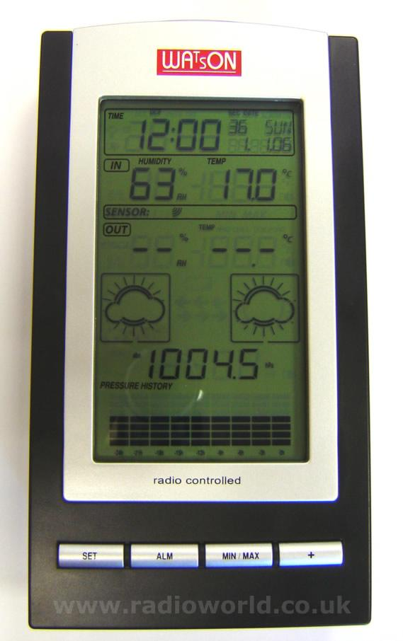 W-8683 Compact Wireless Weather Station