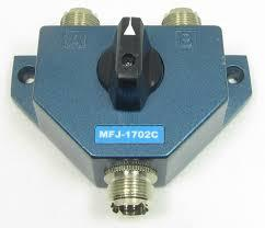 MFJ-1702C 2-way Coax Switch (S0-239)