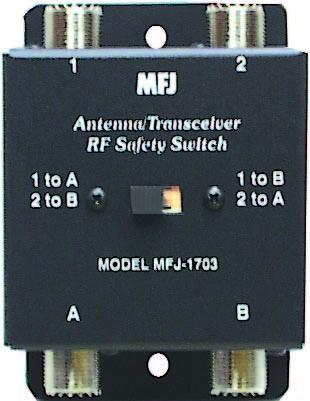 MFJ-1703B Antenna/Transceiver Safety Switch