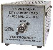 DL-650MN Vectronics 1.5kW Dummy Load (N-type)