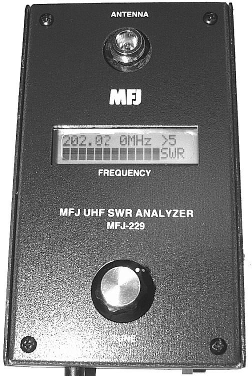 MFJ-220G Custom Antenna/SWR Analyzer w/ LCD