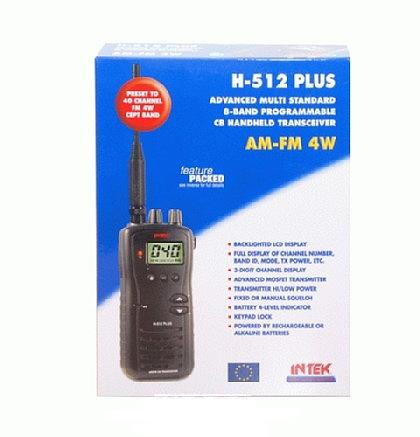 Intek H-512plus - handheld CB transceiver