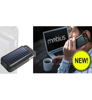 Eton Mobius - Re-Chargeable Battery & Case with Solar Panel - iP