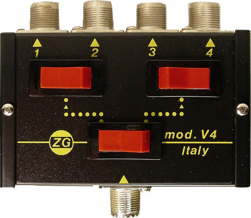 ZETAGI V4 4 POSITION ANTENNA SWITCH