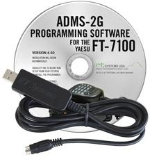 ADMS-2G Programming Software and USB-29B cable for the Yaesu FT-