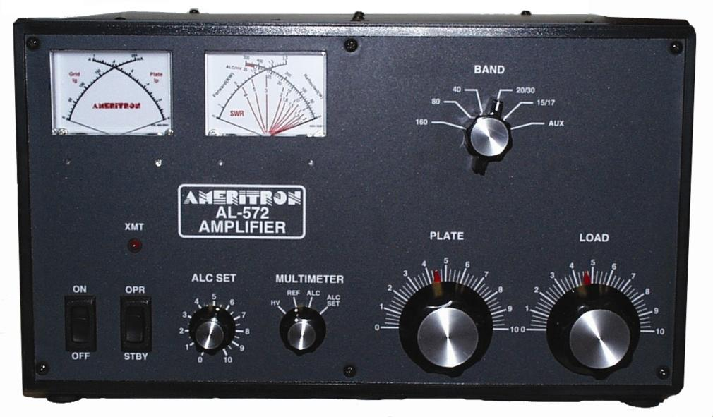 AL-572XQCE Ameritron 1.3kW HF Linear Amplifier with QSK-5 instal