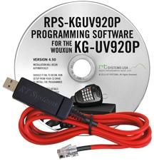 RPS-KGUV920P Programming Software and USB-W5R cable for the Woux