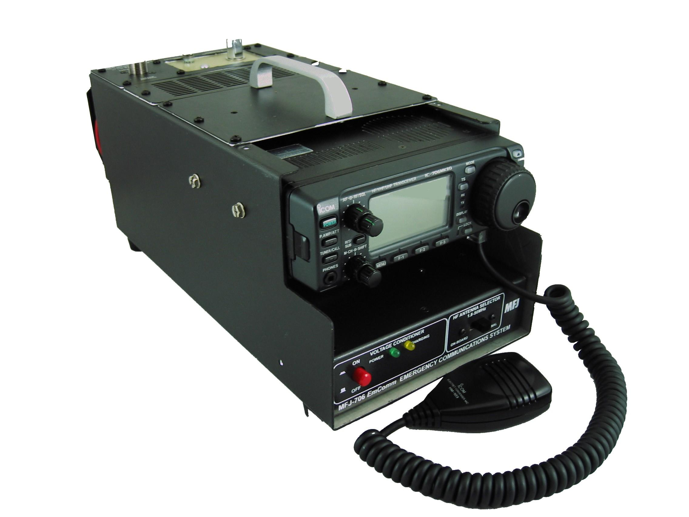 MFJ-7000 PORT/MOBILE GRAB-&-GO EMCOMM, FOR IC-7000