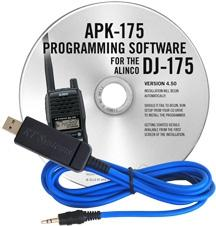 APK-175 Programming Software and USB-29A cable for the Alinco DJ