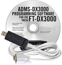 ADMS-DX3000 Programming Software and USB-63 for the Yaesu FT-DX3