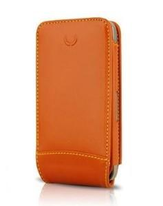 Beyza Case iPhone 4 4S Multiflip Leather Tan