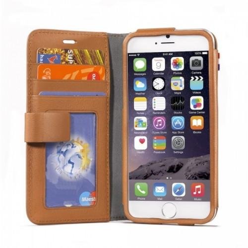 Decoded Case iPhone 6 Leather Wallet Brown