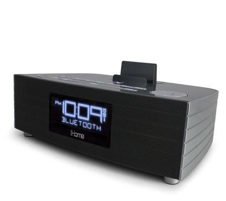 iHome IBN97 Bluetooth NFC Clock Radio and Speakerphone