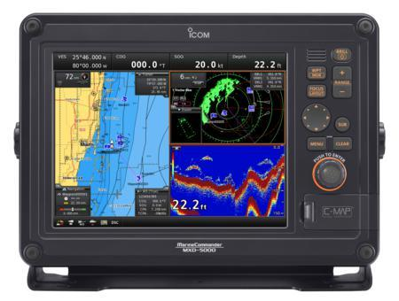 Icom MXS-5000 Marine Commander Marine Networked Navigation Syste