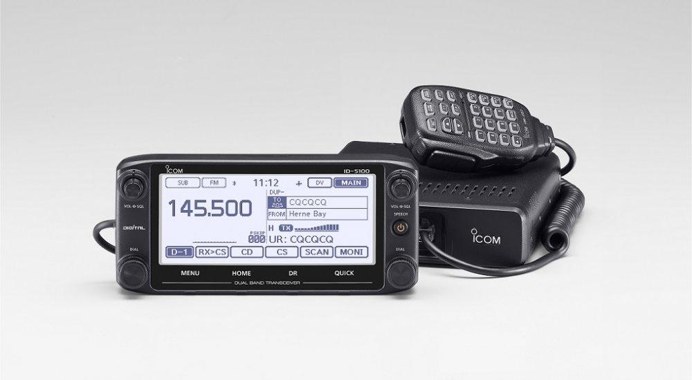 Icom ID-5100 VHF/UHF D-Star Mobile Transceiver Deluxe