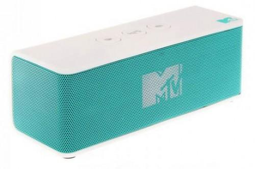MTV Bluetooth Speaker - White/Teal