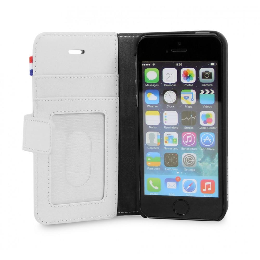 Decoded Case iPhone 6 Leather Flip White