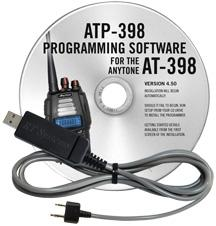 ATP-398D Programming Software and USB-K4Y cable for the AnyTone