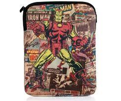 "PDP CASE 10"" TABLET/IPAD MARVEL IRON MAN"