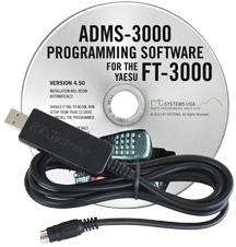 ADMS-3000 Programming Software and USB-29B for the Yaesu FT-3000