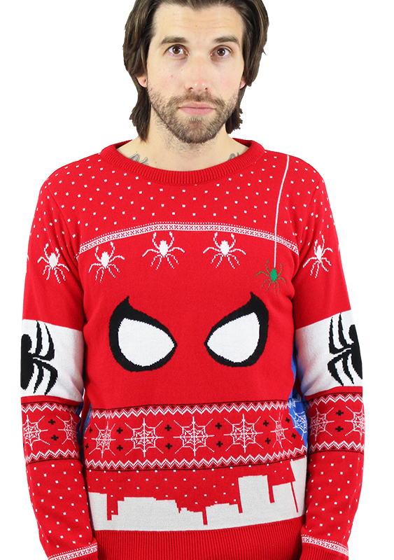 Marvel Official Spiderman Christmas Jumper / Sweater