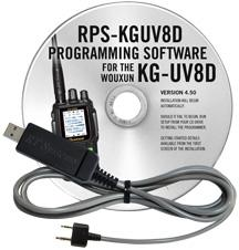 RPS-KGUV8D Programming Software and USB-K4Y cable