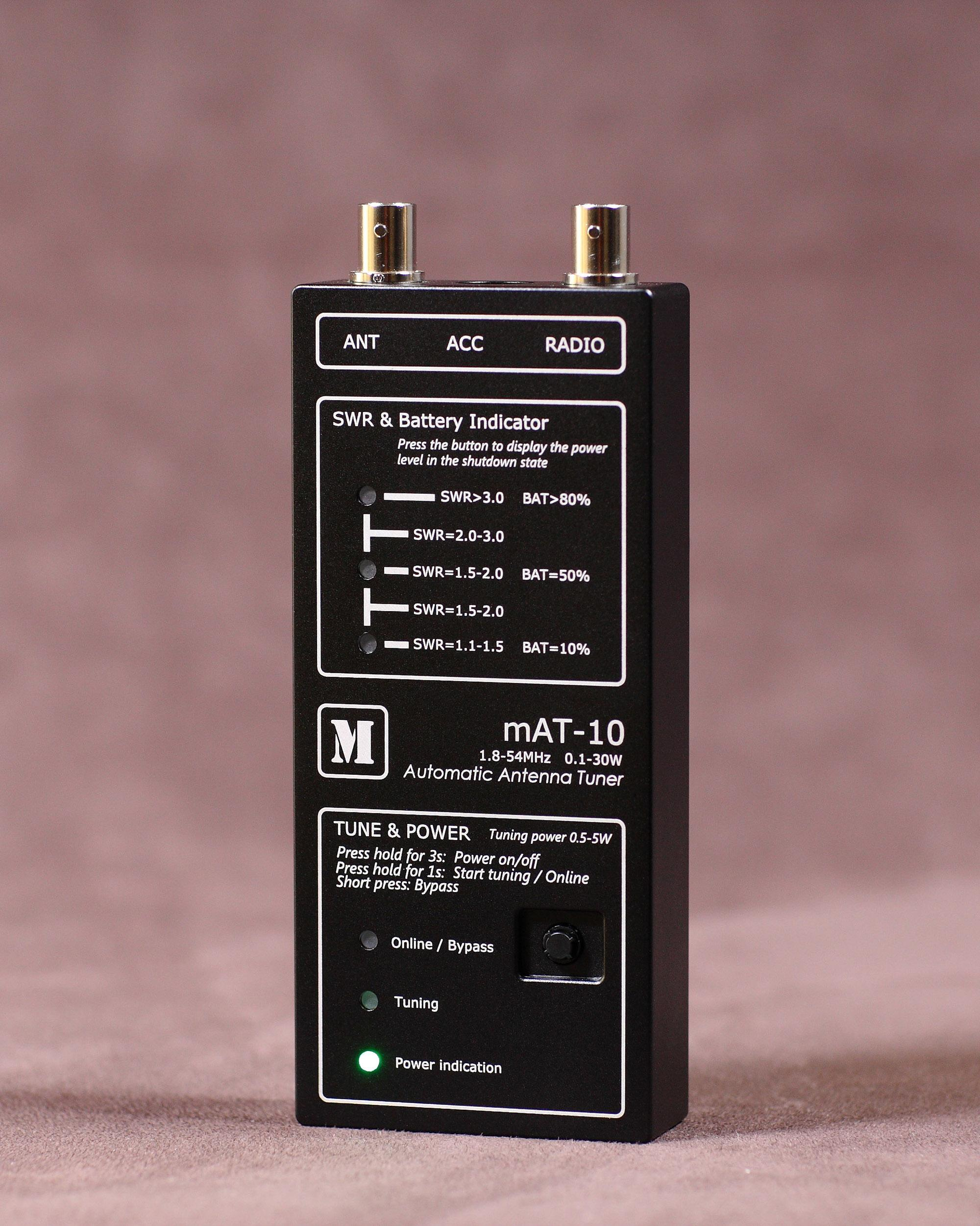 mAT-10 Automatic Tuner For Qrp Transceivers