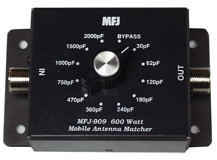 MFJ-909 Mobile Antenna C-Matcher