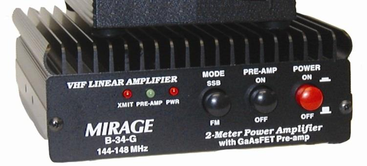 B-34G Mirage 35W 2m Linear Amplifier