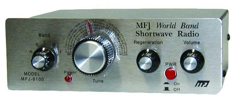 MFJ-8100W World Band SWL Receiver Wired