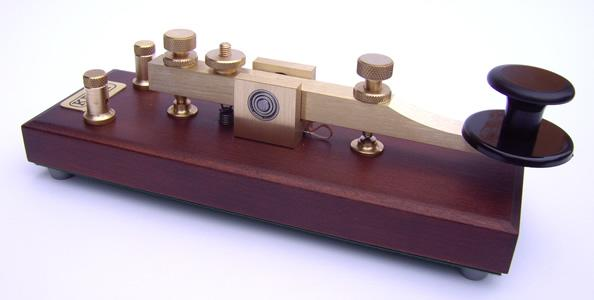 Kent Standard Brass Straight Morse Key Assembled