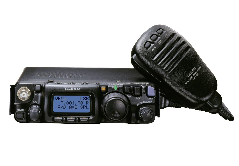 Yaesu FT-817ND - Portable HF-VHF- UHF Radio Transceiver