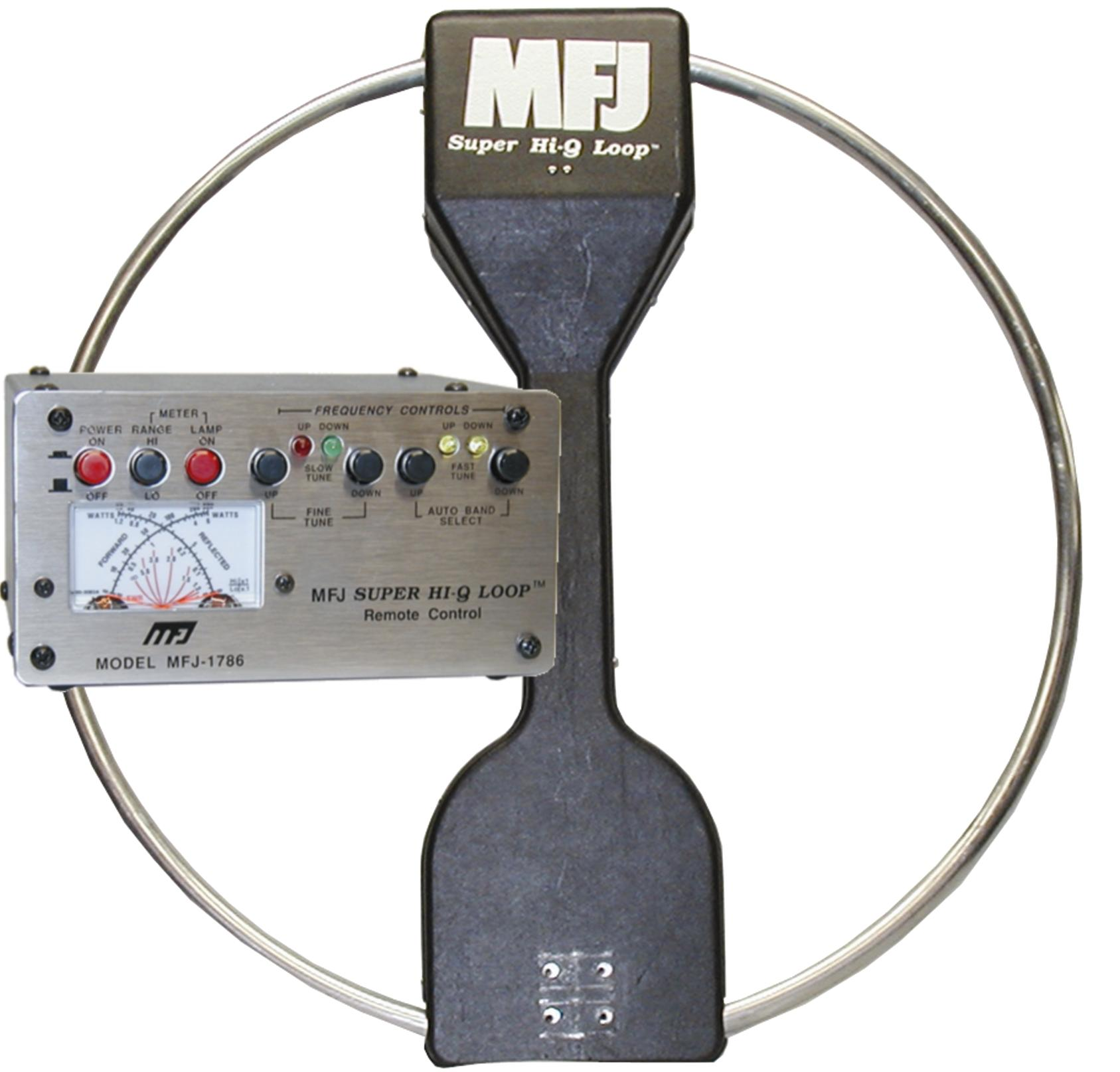 MFJ-1788X Magnetic Loop Antenna 7 - 22MHz.