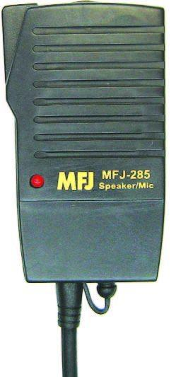 MFJ-285I Perfect size mini speaker/mic for Icom/Yaesu/ADI/Standa