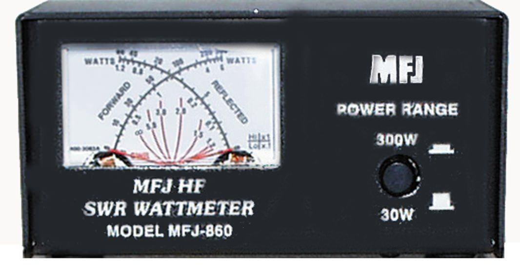 MFJ-860 MFJ SWR POWER Meter